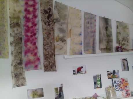 Natural Dye Curtain opening