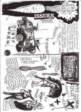 Donkey - work zine (collaborative with Les)